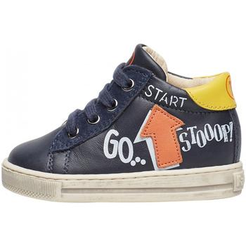 Scarpe Bambino Sneakers Falcotto - Polacchino blu/giallo/aran HOGWA-1C58 BLU