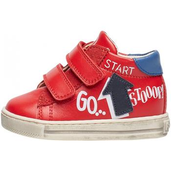 Scarpe Bambino Sneakers Falcotto - Polacchino rosso/azz/blu HOGWA-1H02 ROSSO