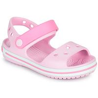 Scarpe Bambina Sandali Crocs CROCBAND SANDAL KIDS Rosa