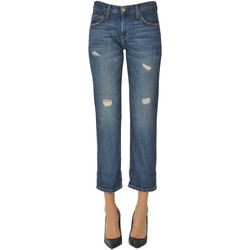 Abbigliamento Donna Jeans boyfriend Current Elliott Jeans boyfriend cropped Denim