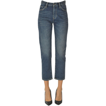 Abbigliamento Donna Jeans slim Current Elliott Jeans cropped slim Denim