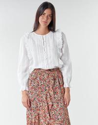 Abbigliamento Donna Top / Blusa Betty London NIAMAIM Bianco