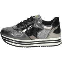 Scarpe Bambina Sneakers basse Asso AG-9502 ANTRACITE