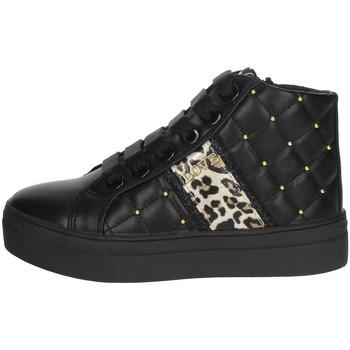 Scarpe Bambina Sneakers alte Asso AG-8603 NERO
