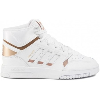 Scarpe Donna Sneakers alte Adidas, Asics, Buffalo London, C Adidas Drop Step W                           bianco