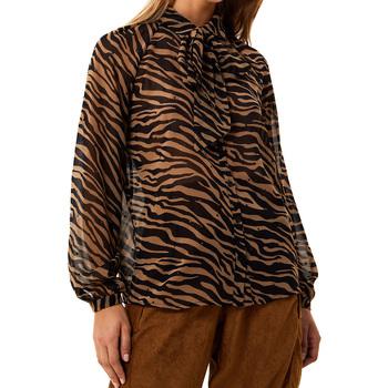 Abbigliamento Donna Camicie Liu Jo CAMICIA OROI ML DONNA Brown