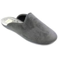 Scarpe Uomo Pantofole Diamante CIABATTA  - ALAC2876 RIGATO GRIGIO Grigio