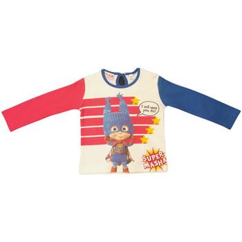 Abbigliamento Bambina T-shirts a maniche lunghe Masha E Orso Maglietta Multicolore