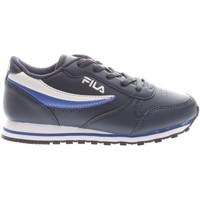 Scarpe Bambino Sneakers basse Fila 1010783 22V-UNICA - Orbit Low  Blu