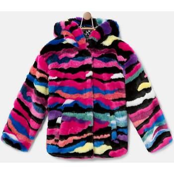 Abbigliamento Bambina Giubbotti Desigual 20WGEW25 3187 Rosa