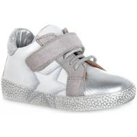 Scarpe Bambino Sneakers basse Grunland BIANCO NOON Bianco