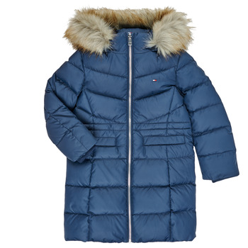 Abbigliamento Bambina Piumini Tommy Hilfiger KG0KG05397-C87-C Marine