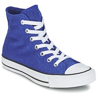 Scarpe Donna Sneakers alte Converse CHUCK TAYLOR ALL STAR KNIT Blu