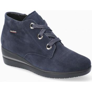Scarpe Donna Sneakers alte Mephisto PERYNE Blu