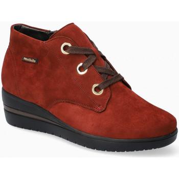 Scarpe Donna Sneakers alte Mephisto PERYNE Arancio