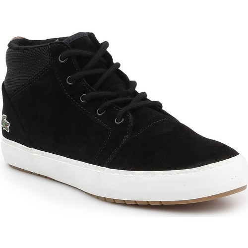Scarpe Uomo Sneakers alte Lacoste Ampthill Chukka 417 7-34CAW0065024 black