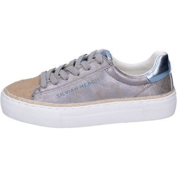 Scarpe Bambina Sneakers Silvian Heach BK489 Argento