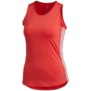Abbigliamento Donna Top / T-shirt senza maniche adidas Originals Wmns 3STRIPES Tank Top Rosso