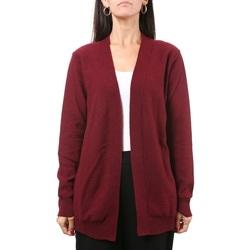 Abbigliamento Donna Gilet / Cardigan Manila Grace M215WU-MD692 Rubino Rosso
