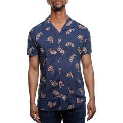 Abbigliamento Uomo Camicie maniche corte Premium 12151610 - Navy Blazer Blu