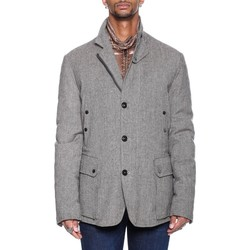 Abbigliamento Uomo Giacche / Blazer Moncler Canberra - Beige Bianco