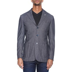 Abbigliamento Uomo Giacche / Blazer L.b.m. 1911 25081 2880 - 04 Blu Blu
