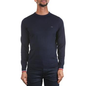 Abbigliamento Uomo Maglioni Sun68 K29111-07 Navy Blu