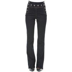 Abbigliamento Donna Jeans bootcut Manila Grace J009D2-MD738 Blue Rinse Blu