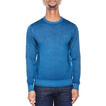 Abbigliamento Uomo Maglioni Sun68 26149 - 70 Ottanio Blu