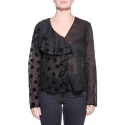 Abbigliamento Donna Top / Blusa Manila Grace C026CP - MD612 Nero