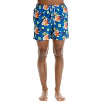 Abbigliamento Uomo Costume / Bermuda da spiaggia Mc2 Saint Barth Moscowmule Glass Multicolore