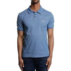 Abbigliamento Uomo Polo maniche corte Cp Company O6CMPL228A-005436P - 849 Moroccan Blue Blu