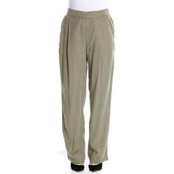Abbigliamento Donna Pantaloni morbidi / Pantaloni alla zuava Woolrich WWPAN1242 - 6276 Pale Leaf Verde