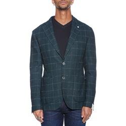 Abbigliamento Uomo Giacche / Blazer L.b.m. 1911 75024 2857 - 03 Verde Verde