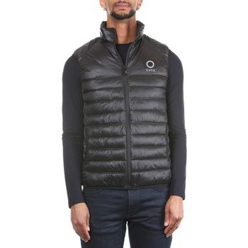Abbigliamento Uomo Gilet / Cardigan Sunstripes SHIELD - 402 Black Nero