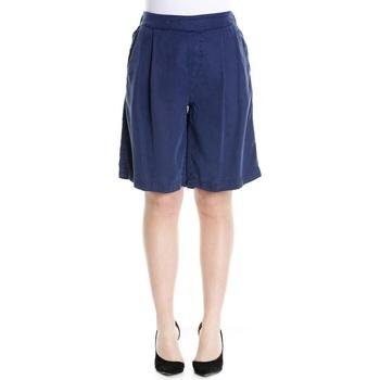 Abbigliamento Donna Shorts / Bermuda Woolrich WWSHO0351 - 3249 Farmer Blue Blu