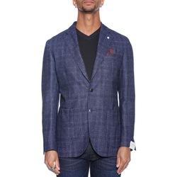 Abbigliamento Uomo Giacche da completo L.b.m. 1911 75039 2887 - 02 Blu Blu