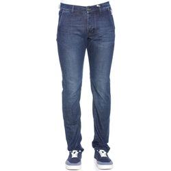 Abbigliamento Uomo Jeans slim Roy Rogers Elias Superior Wared 3 - Blu Blu