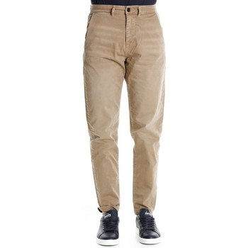 Abbigliamento Uomo Pantaloni Selected 16067050 - 34 Sand Bianco