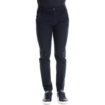 Abbigliamento Uomo Chino Heaven Two HE1714 TH619 - 062 Navy Blu