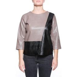 Abbigliamento Donna Maglioni Manila Grace C174EU - MD615 Nero
