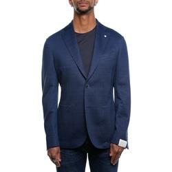 Abbigliamento Uomo Giacche / Blazer L.b.m. 1911 2865 95878 - 02 Blu