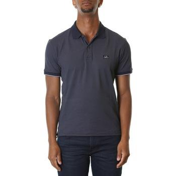 Abbigliamento Uomo Polo maniche corte Cp Company 08CMPL052A000973G - 888 - TOTAL ECLIPSE Blu