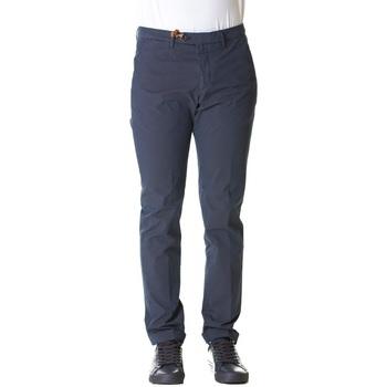 Abbigliamento Uomo Chino Bsettecento MH700 7530 - 91 Blu Blu