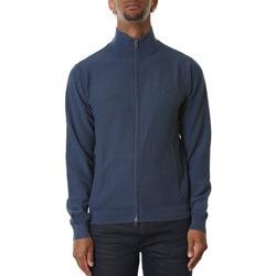Abbigliamento Uomo Gilet / Cardigan Sun68 K30110-07 NAVY BLUE Blu