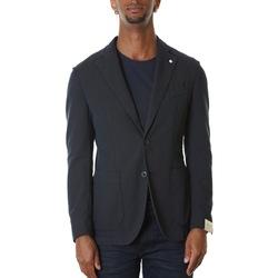 Abbigliamento Uomo Giacche / Blazer L.b.m. 1911 2837 95826 - 1 Blu Blu