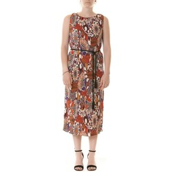 Abbigliamento Donna Abiti lunghi Manila Grace A427PS MD872-BORGOGNA Rosso