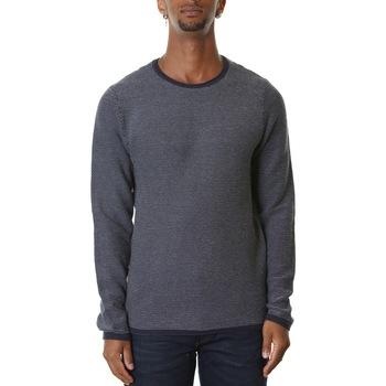 Abbigliamento Uomo Maglioni Selected 16076914-Navy Blazer/Egret Blu