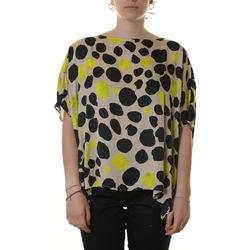 Abbigliamento Donna Top / Blusa Manila Grace C181VS MD838-BEIGE Bianco