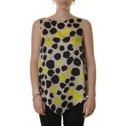 Abbigliamento Donna Top / Blusa Manila Grace C238VS MD838-BEIGE Bianco